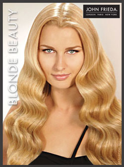 John Frieda мастер-класс. Blonde beauty
