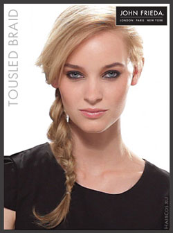 John Frieda мастер-класс. Tousled braid