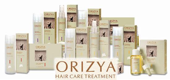Orizya - профессиональная лечебная косметика для волос
