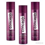 Лак <i>пушистость</i> для волос с блестками Concept hairspray with glitter (3 цвета)