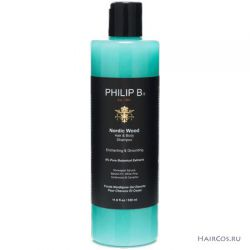 Шампунь и гель для душа 2-в-1 «Северный лес» Philip B nordic wood hair and body shampoo
