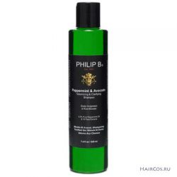 Шампунь с перечной мятой и авокадо Philip B peppermint and avocado volumizing and clarifying shampoo